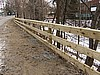 Wooden Barrier Fence 1
