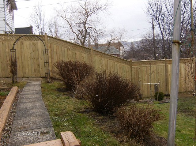 Wooden Privacy Fence 2